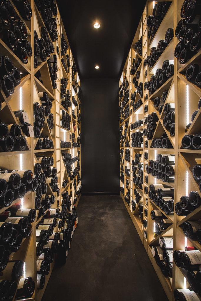 Cave de restaurant étoilé à Tournus